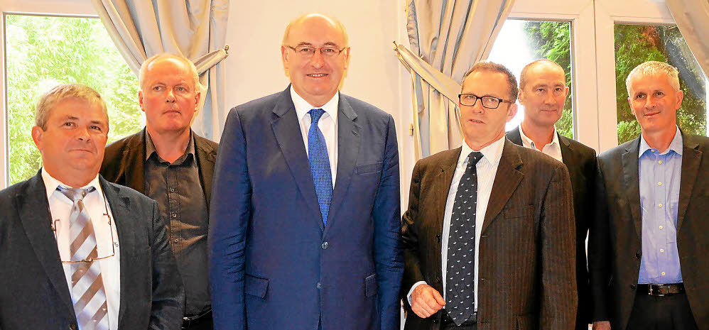 Invité par Breiz Europe, OPLGO rencontre Phil Hogan